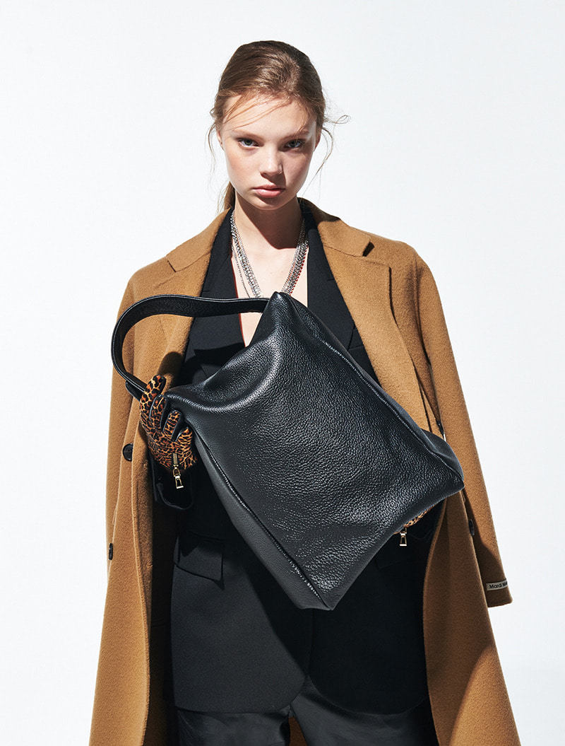 SHOPPER BLACK [ALL LEATHER]