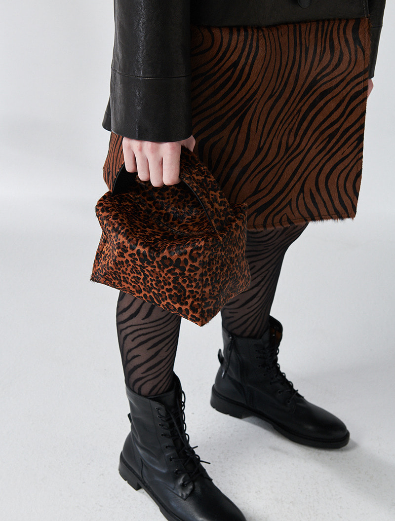 NANO DARK LEOPARD [ALL LEATHER-송치]