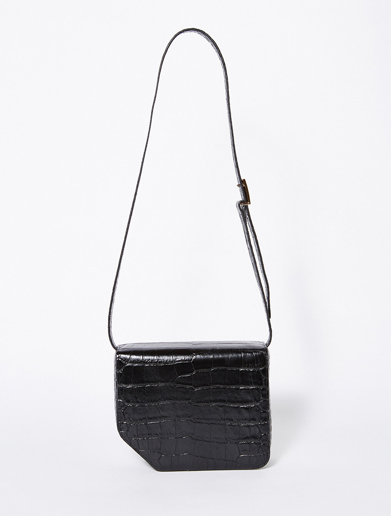 JANE SATCHEL BAG BLACK