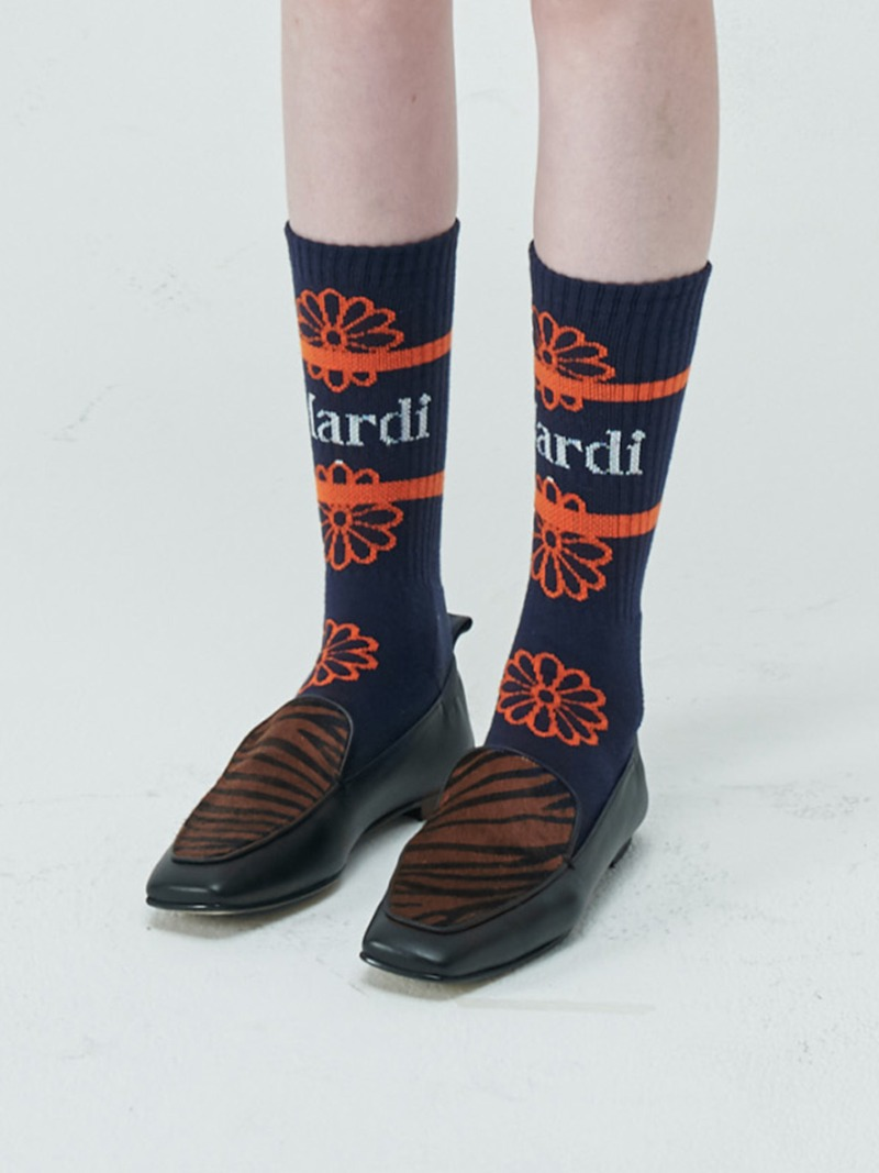 SOCKS - FLOS EMOJI - NAVY